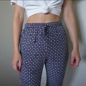 Abercrombie printed joggers